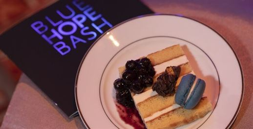 photo of desserts at the Blue Hope Bash