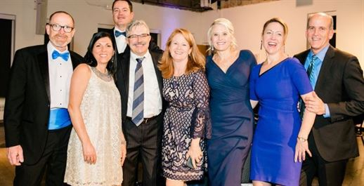 photo of guests at the Blue Hope Bash Denver event