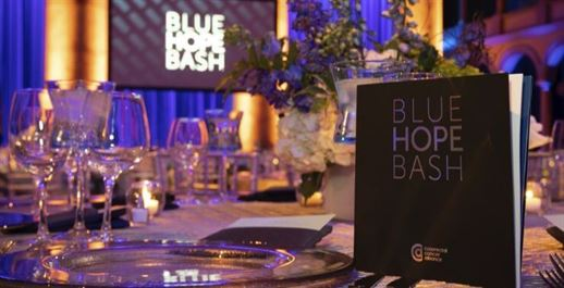 Program at the Blue Hope Bash
