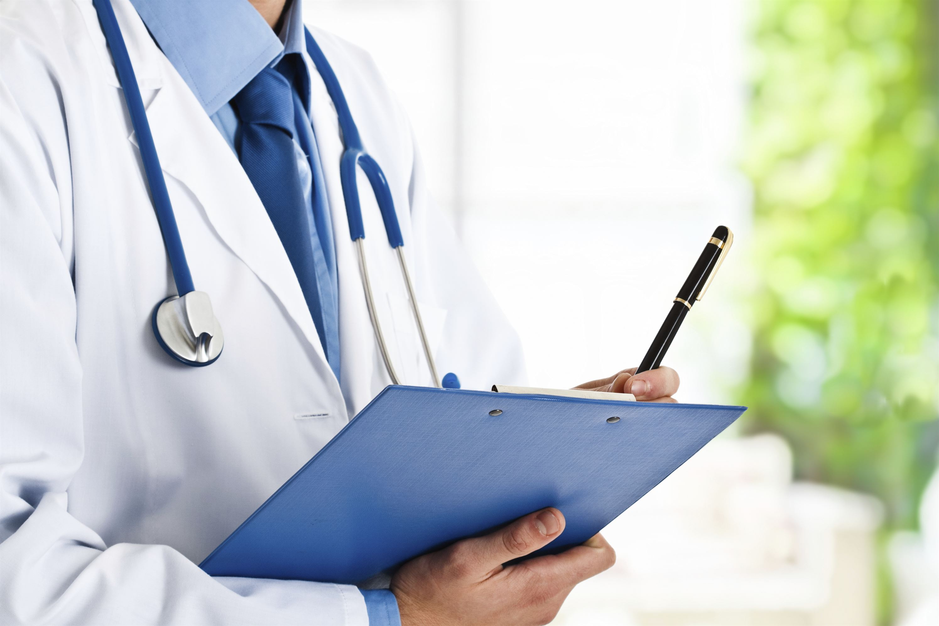 Doctor With Clipboard