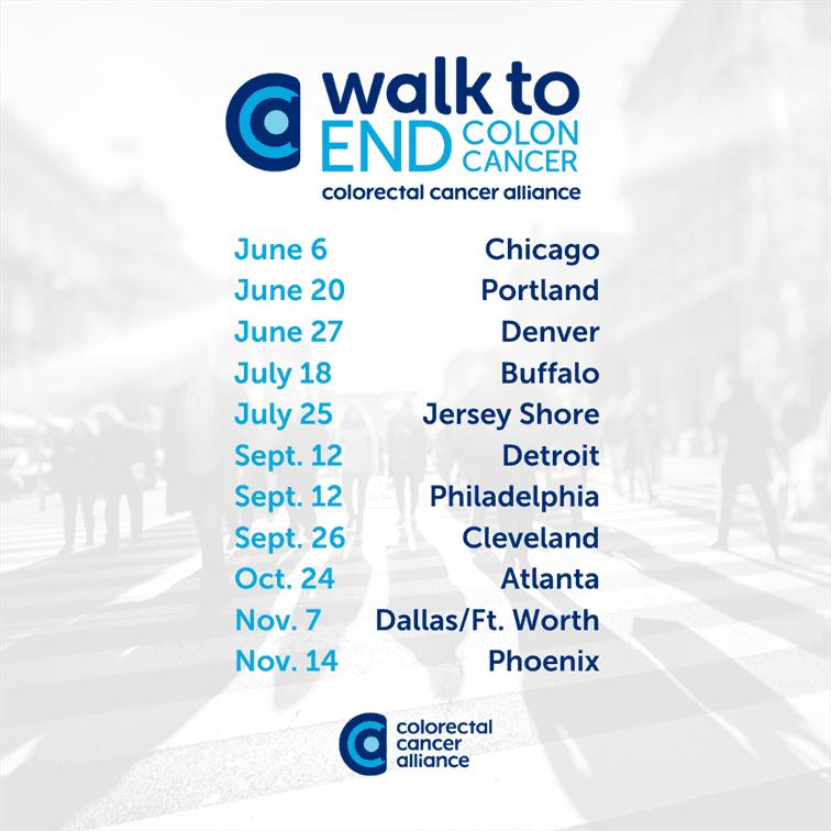 Alliance Announces The Walk To End Colon Cancer